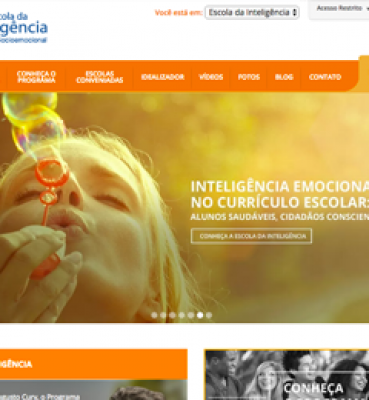 Website da Escola da Inteligência